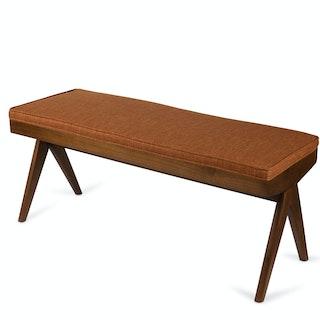 Cushion Bench3 Cognac 1