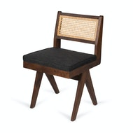 Kussen Dining Chair - Antraciet