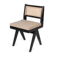 Cushion Dining Chair - Light Brown