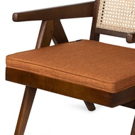 Easy Lounge Chair Cushion - Cognac