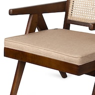 Easy Lounge Chair Cushion - Light Brown