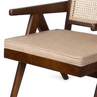 Easy Lounge Chair Kissen - Hellbraun