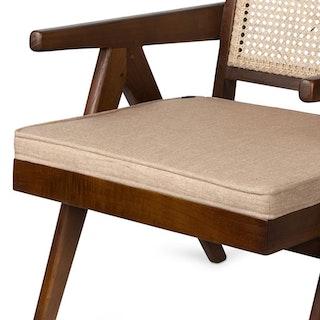 Cushion Lounge Lightbrown 1 2