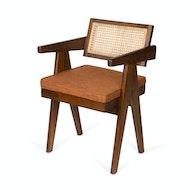 Office Chair Cushion - Cognac