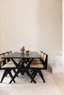 Dining Chair - Houtskool Zwart