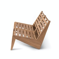 Kangaroo Chair Bench 2 - Teak Outdoor