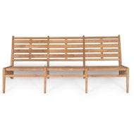 Kangaroo Chair Bench 3 - Teak Outdoor