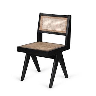 Diningchair zwart hoek