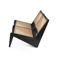 Kangaroo Chair Bench 2 - Charcoal Black