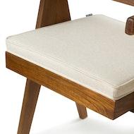 Easy Lounge Chair Cushion - Creme