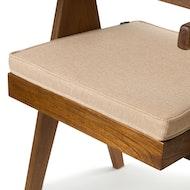 Kangaroo Cushion - Light Brown