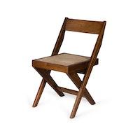 Library Chair - Dark Brown