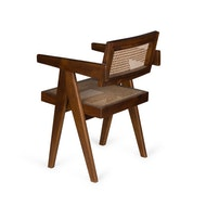 Office Chair - Darkened Teak