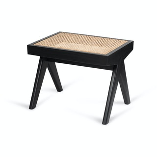 Stool Lounge black hoek