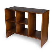 Book Rack - Darkened Teak