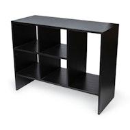 Book Rack - Charcoal Black